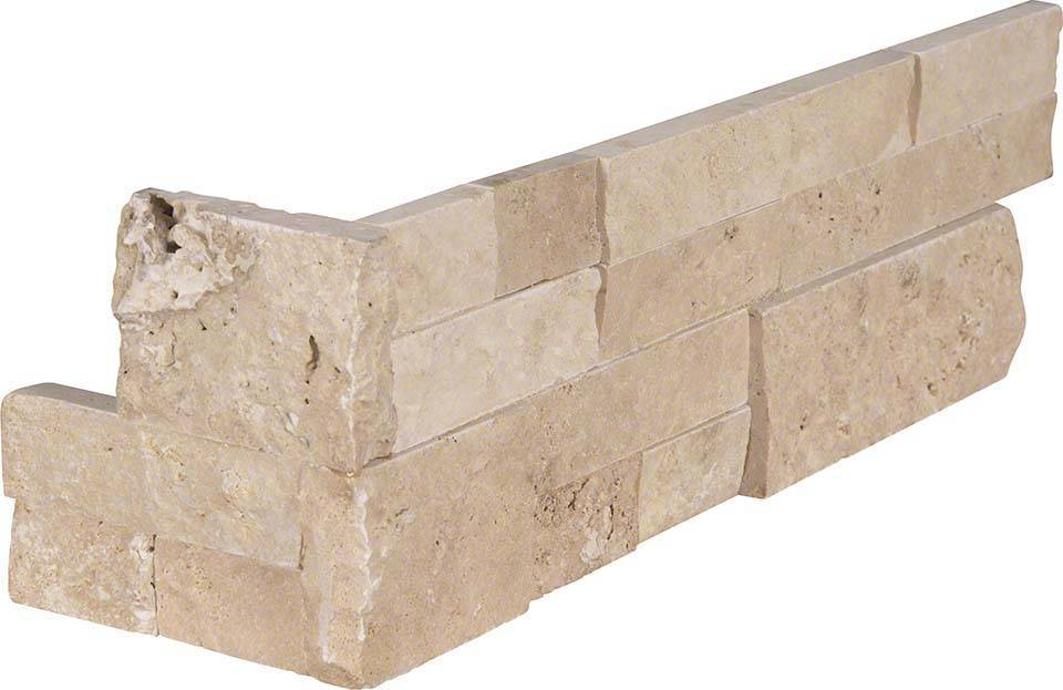 Durango Cream RockMount Stacked Stone Panels