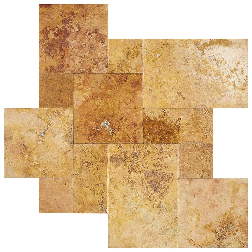 /images/hardscaping/variations/golden leaf travertine pavers variations 1