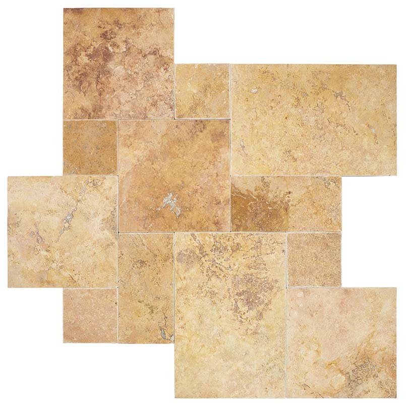 /images/hardscaping/variations/golden leaf travertine pavers variations