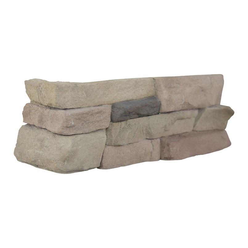 Peninsula Sand Mfd Stacked StonesCorner 4sqft/box