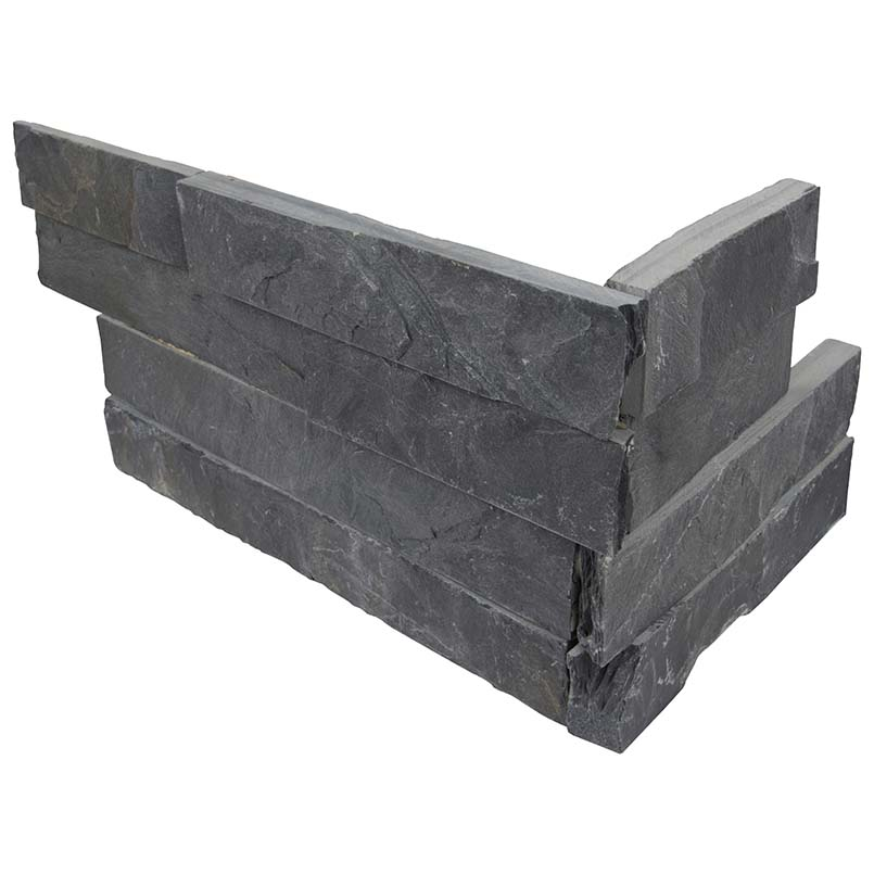 Premium Black Slate Corner