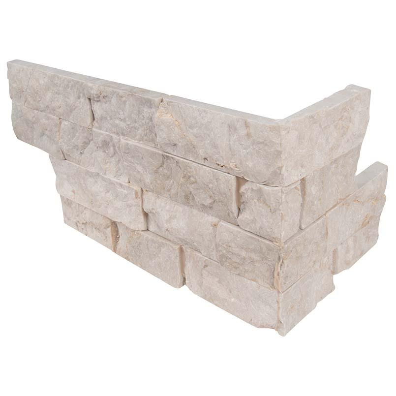 Tiara Beige Limestone Corner