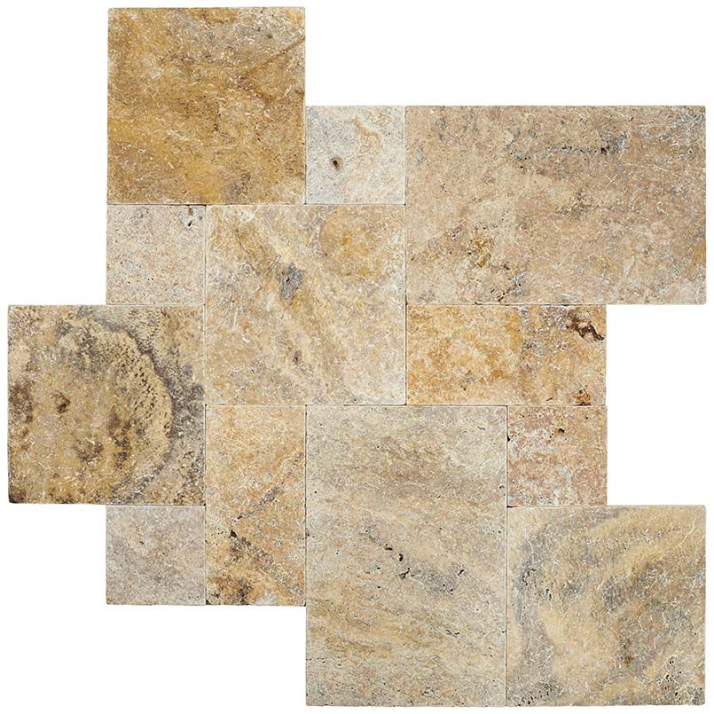 tuscany scabas travertine pavers variations