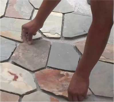 Flagstone Installation Video