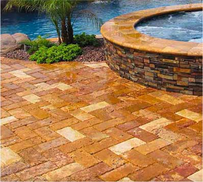 Natural Stone Pavers & Copings