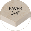 inout Paver Size