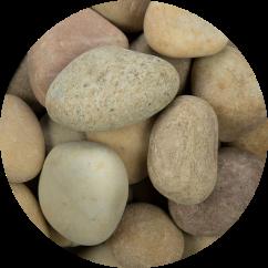 niagara yellow pebbles