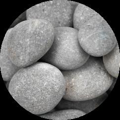 nile grey pebbles