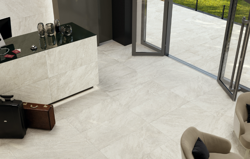 Legions Quart White Large Format Tile