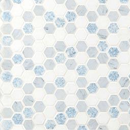 Azula Hex Backsplash Wall Tile