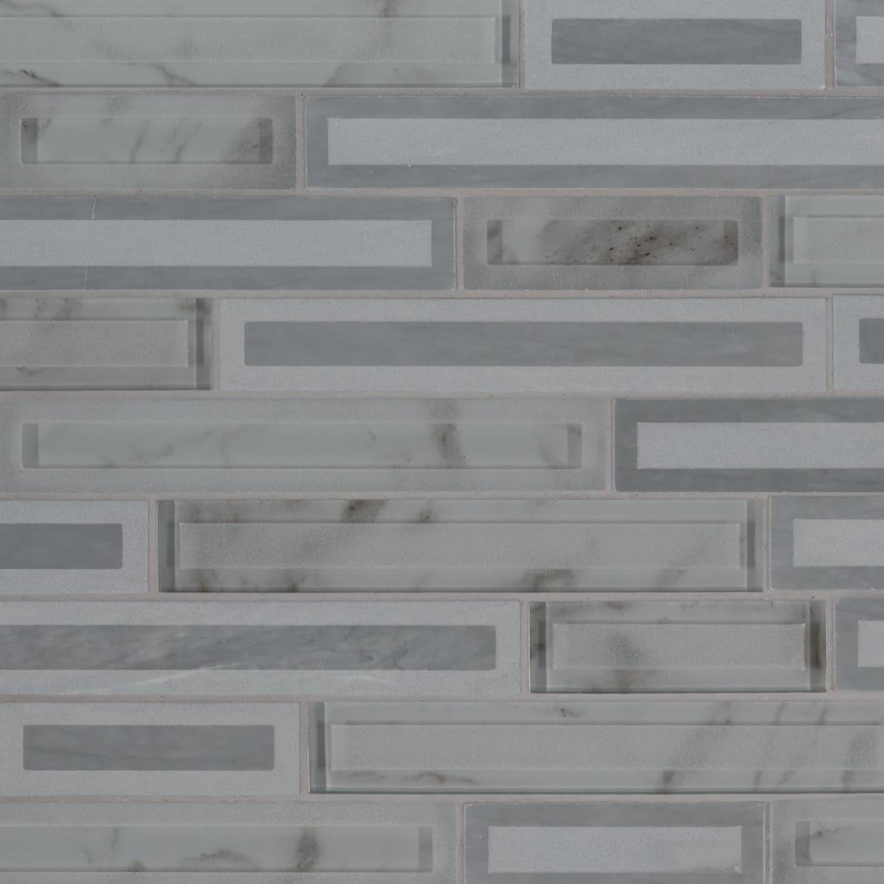 Blocki Grigio Interlocking Pattern Wall Tile