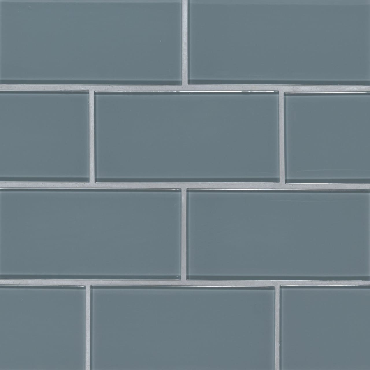 Harbor Gray 3x6x8 Subway Tile Mosaic
