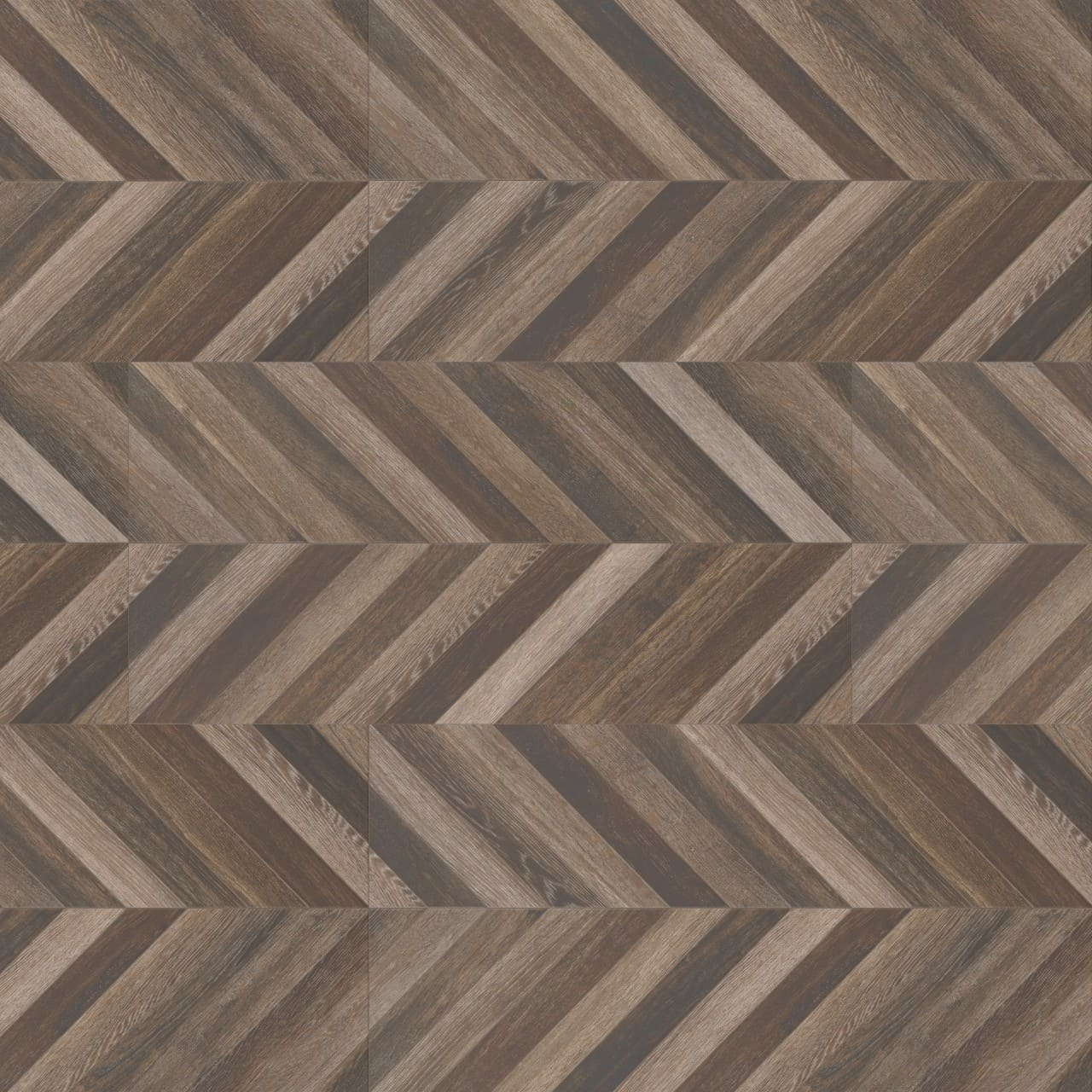 Antoni Chevron Wood Look Porcelain Flooring