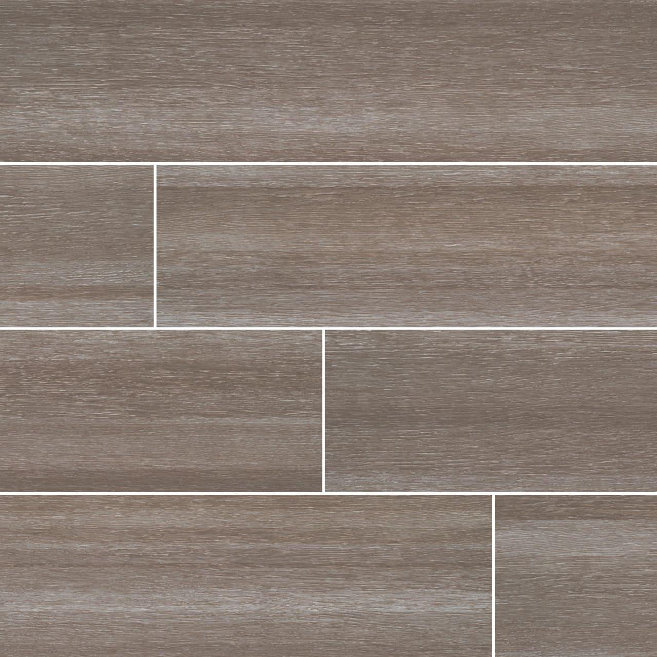 Turin Taupe Ceramic Wood Look Tile