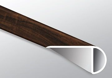 BURNISHED ACACIA STAIR NOSE