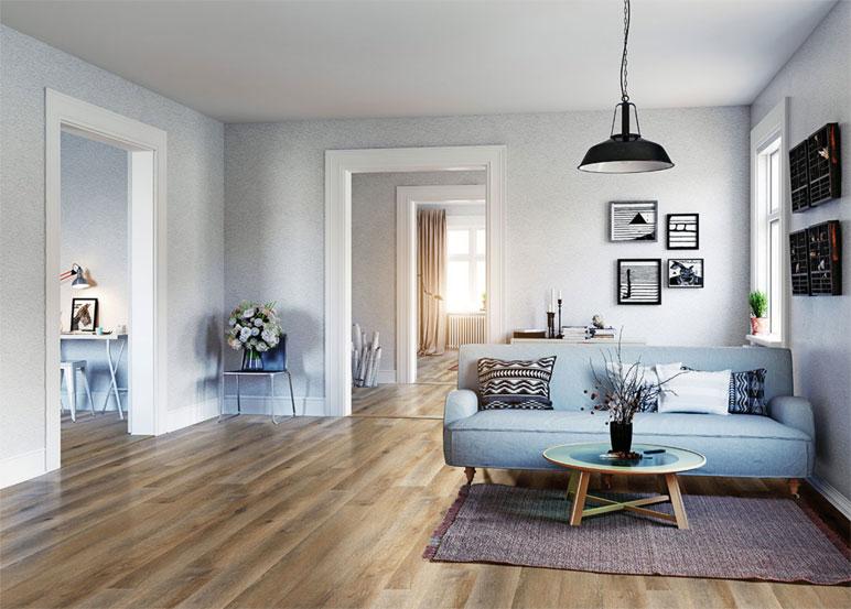 vinyl flooring or LVT 3