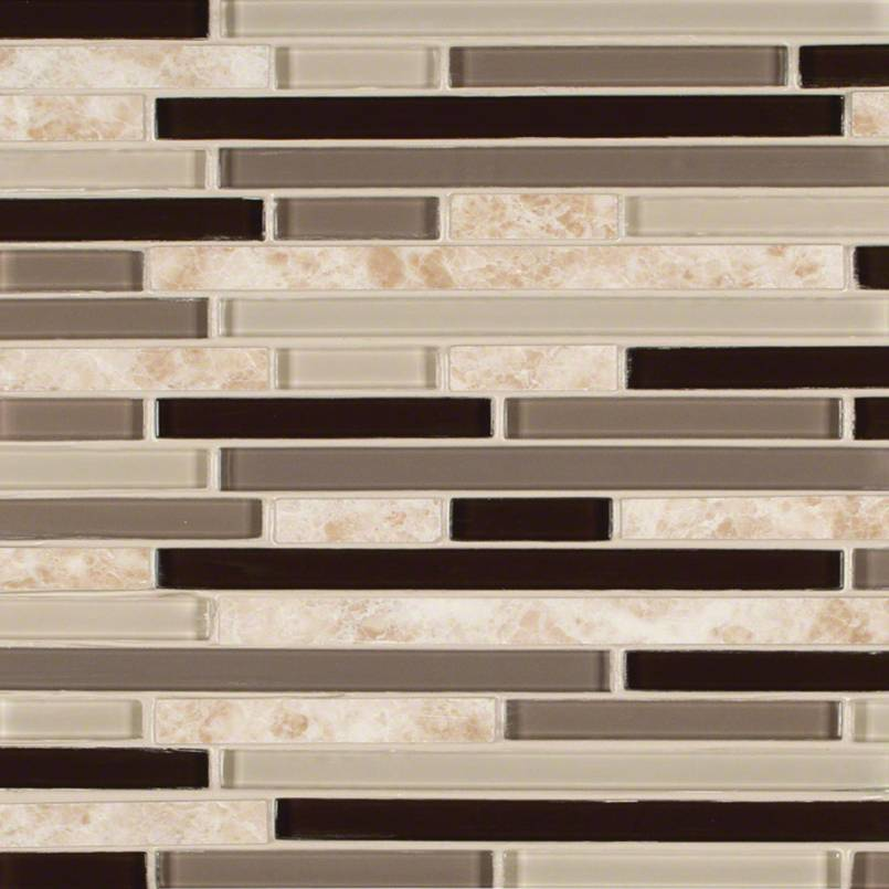 Amalfi Cafe Interlocking Pattern 6mm Decorative Mosaic Tile