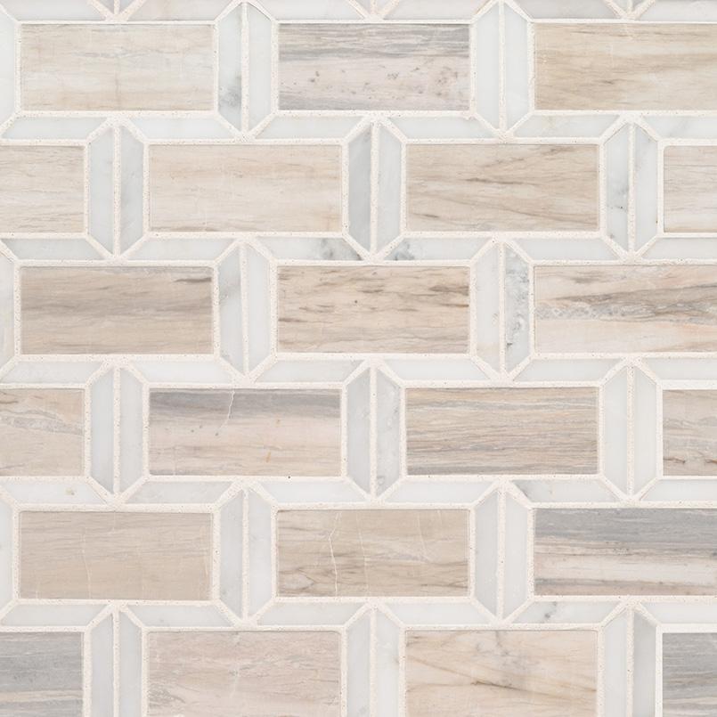 Angora Framework Polished Subway Tile