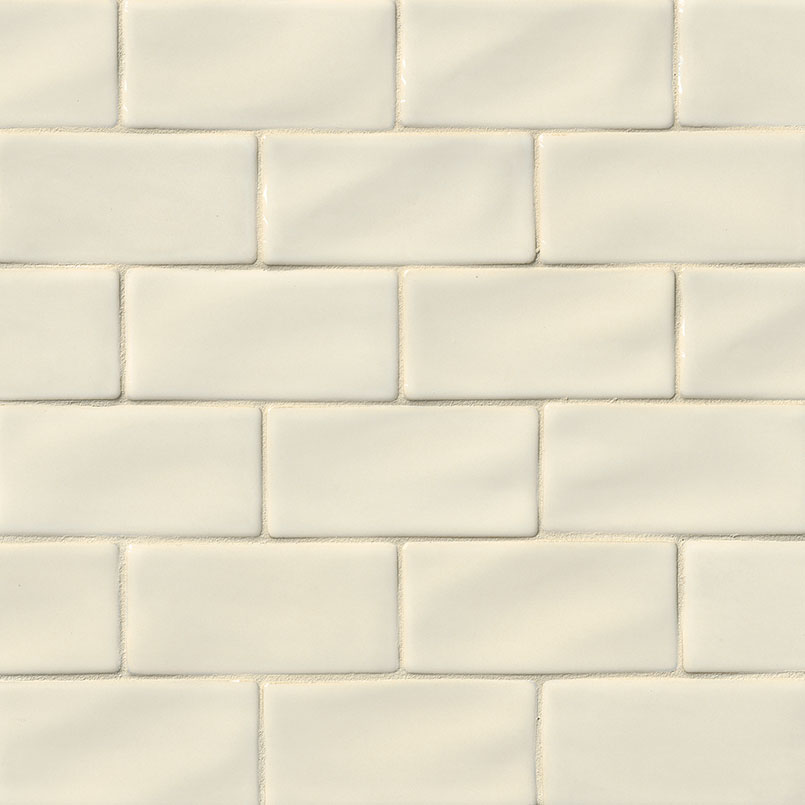 Antique White Subway Tile 3x6