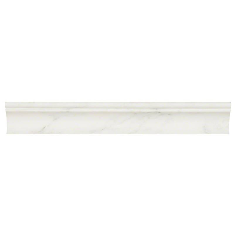 Arabescato Carrara cornice Molding Honed