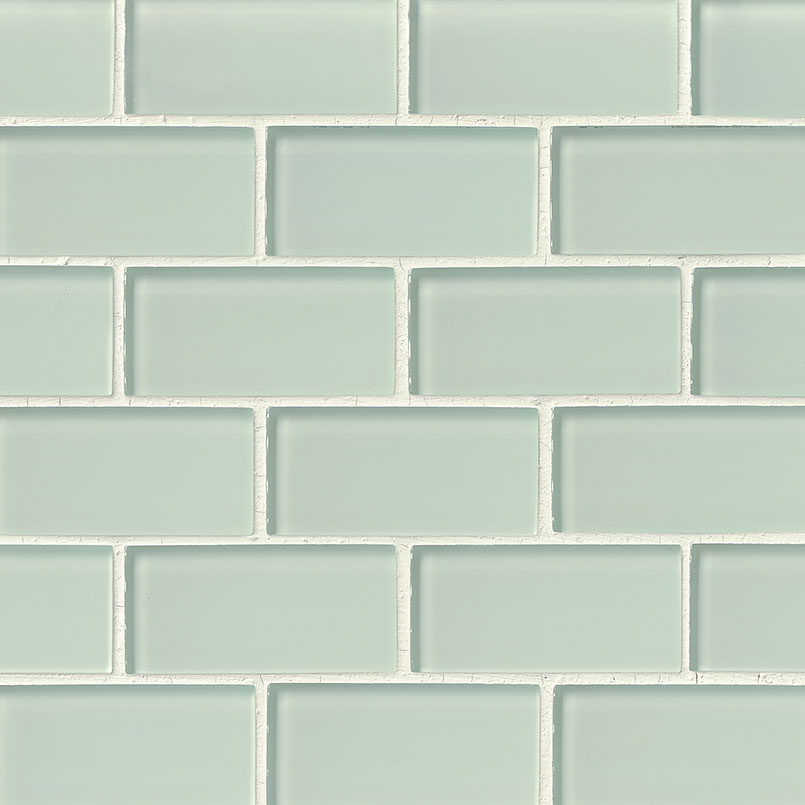 Arctic Ice Gl Subway Tile 2x4 Collection