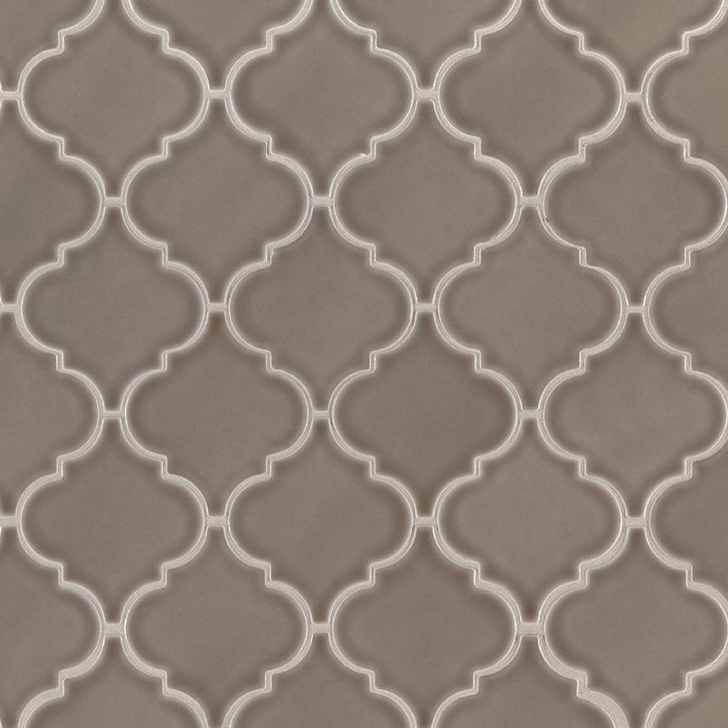 Artisan Taupe Arabesque Wall Tile Subway Tile