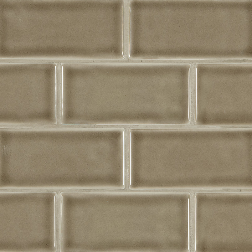 Artisan Taupe Subway Tile 3x6
