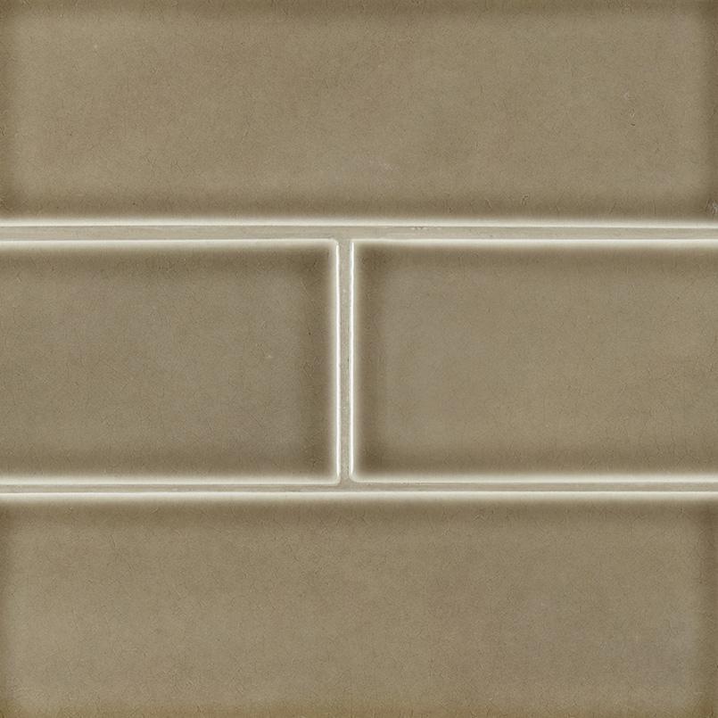 Artisan Taupe Subway Tile 4x12