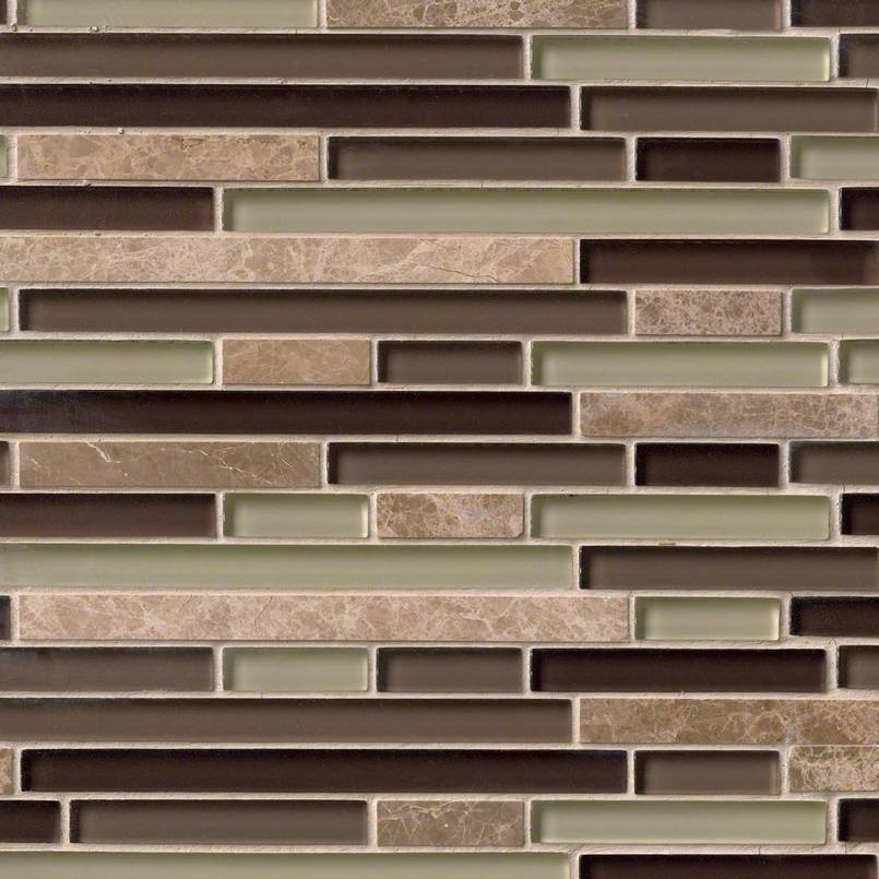 ASPEN INTERLOCKING PATTERN 8MM Decorative Mosaic Tile