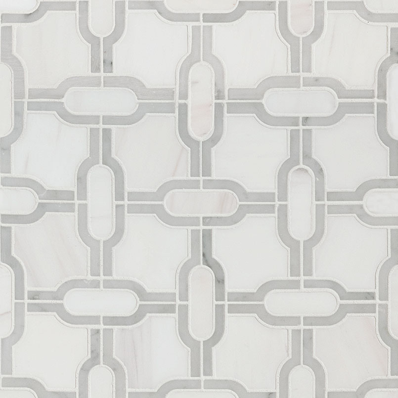 Bianco Gridwork Polished 10mm