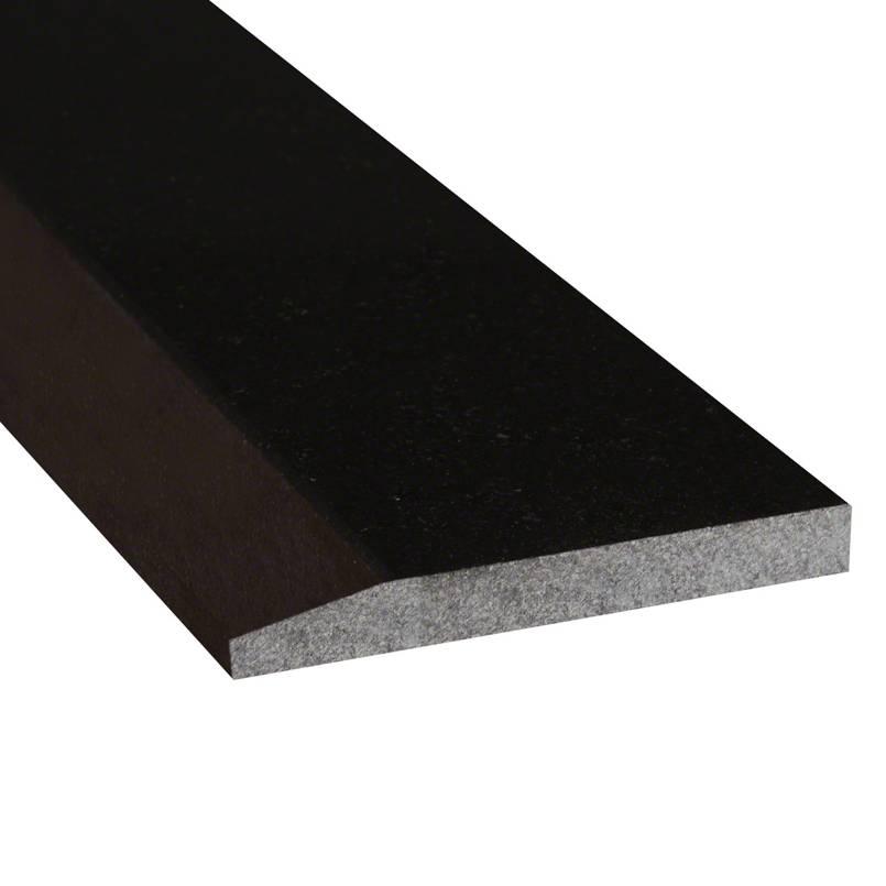 Black Granite 4x36x.75 Polished Single Hollywood Threshold