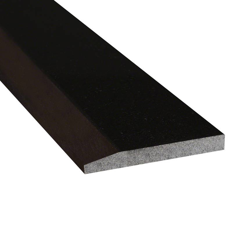 Black Granite 5x36x0.75 Polished Single Hollywood Threshold