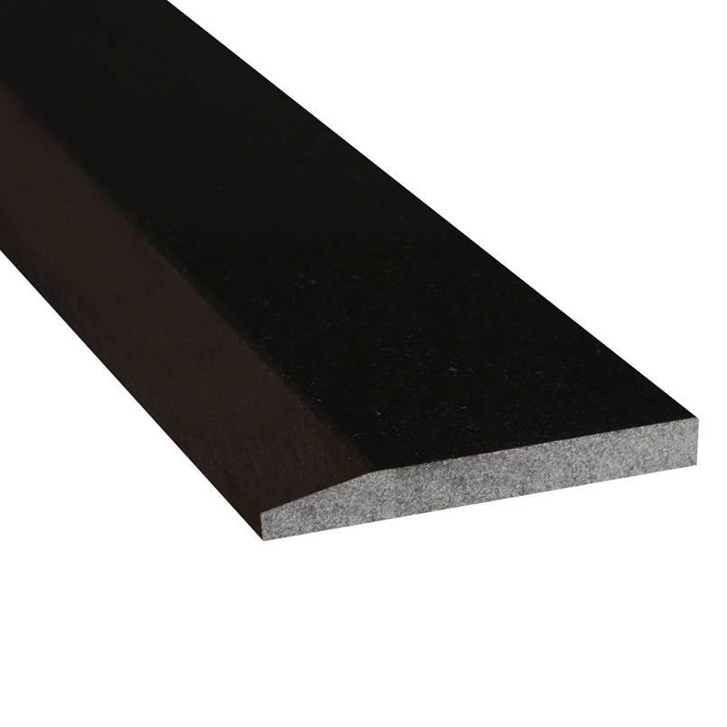 Black Granite 6x36x0.75 Polished Single Hollywood Threshold