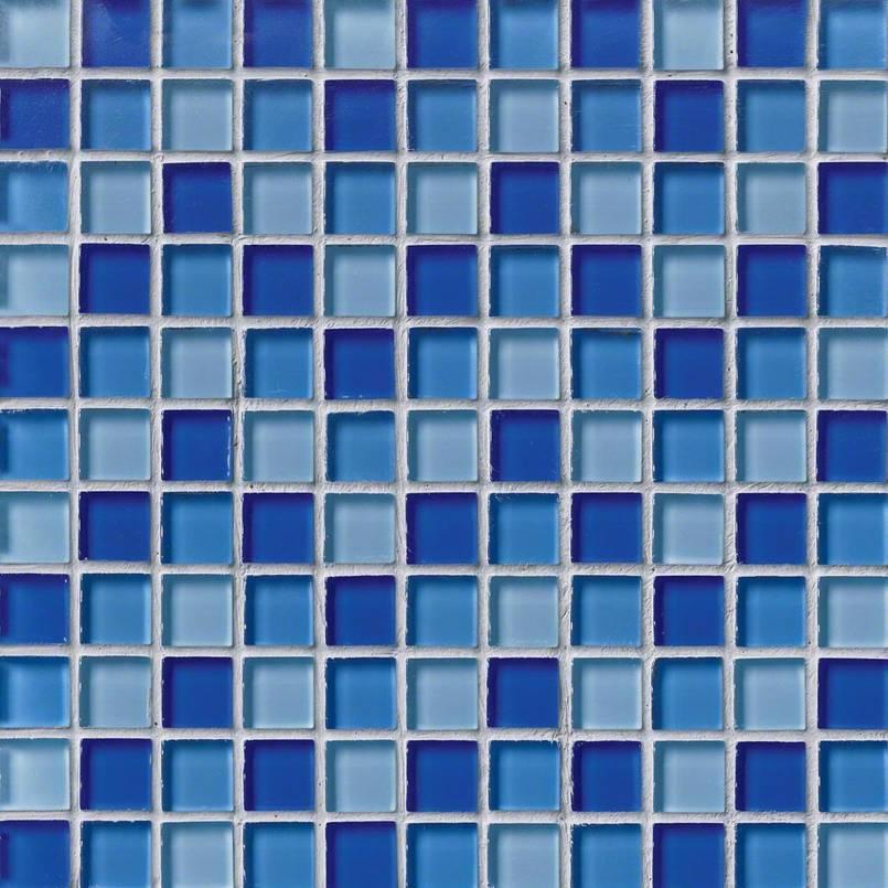 BLUE BLEND GLASS 1X1X8MM