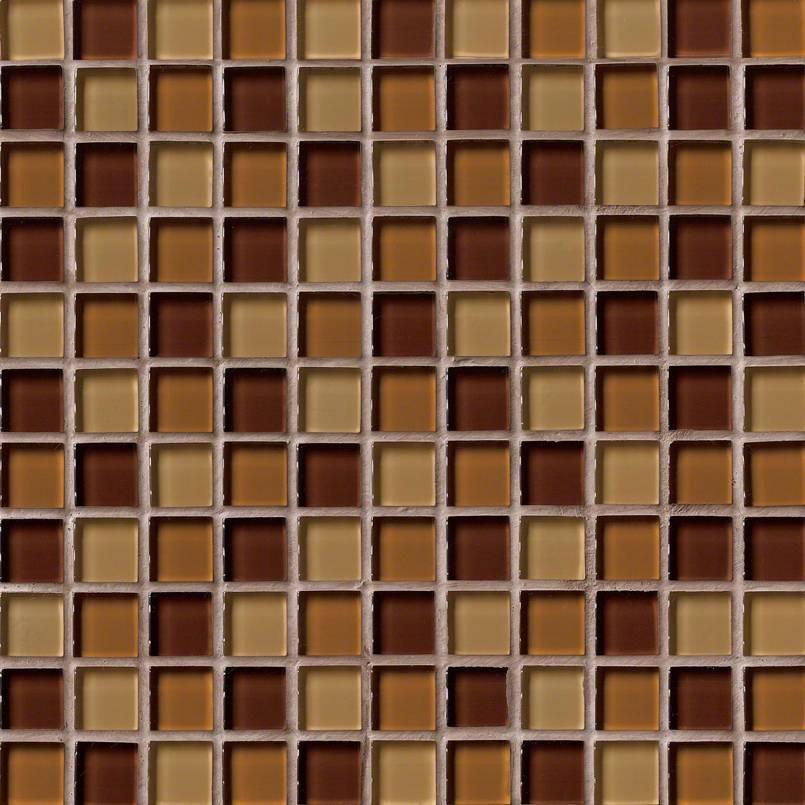 BROWN BLEND GLASS 1X1X8MM
