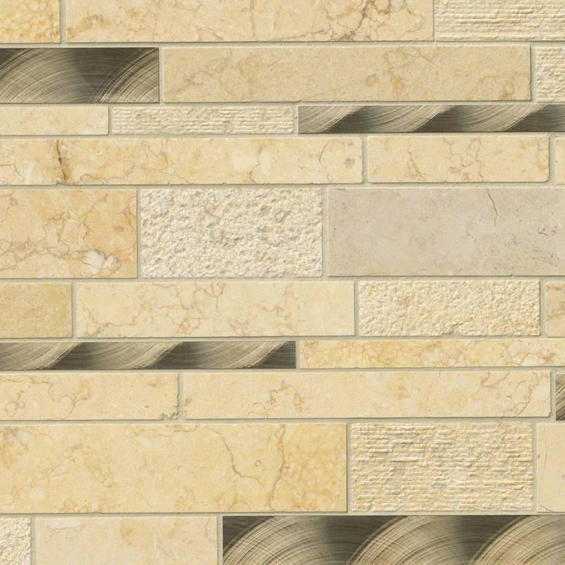 Cairo Blend Interlocking Decorative Mosaic Tile