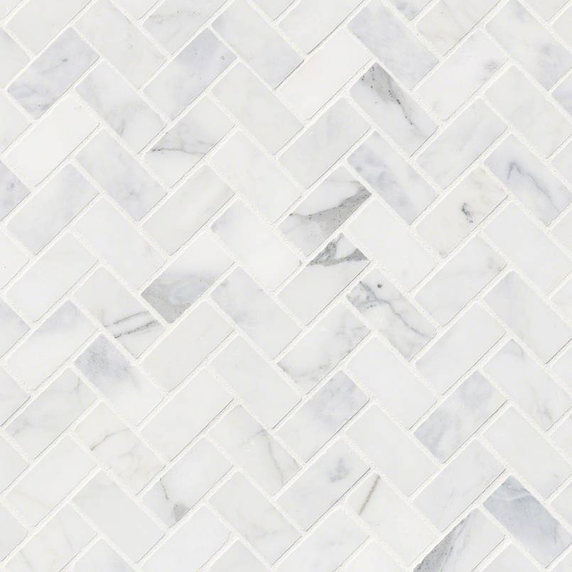 Calacatta Cressa Herringbone Honed