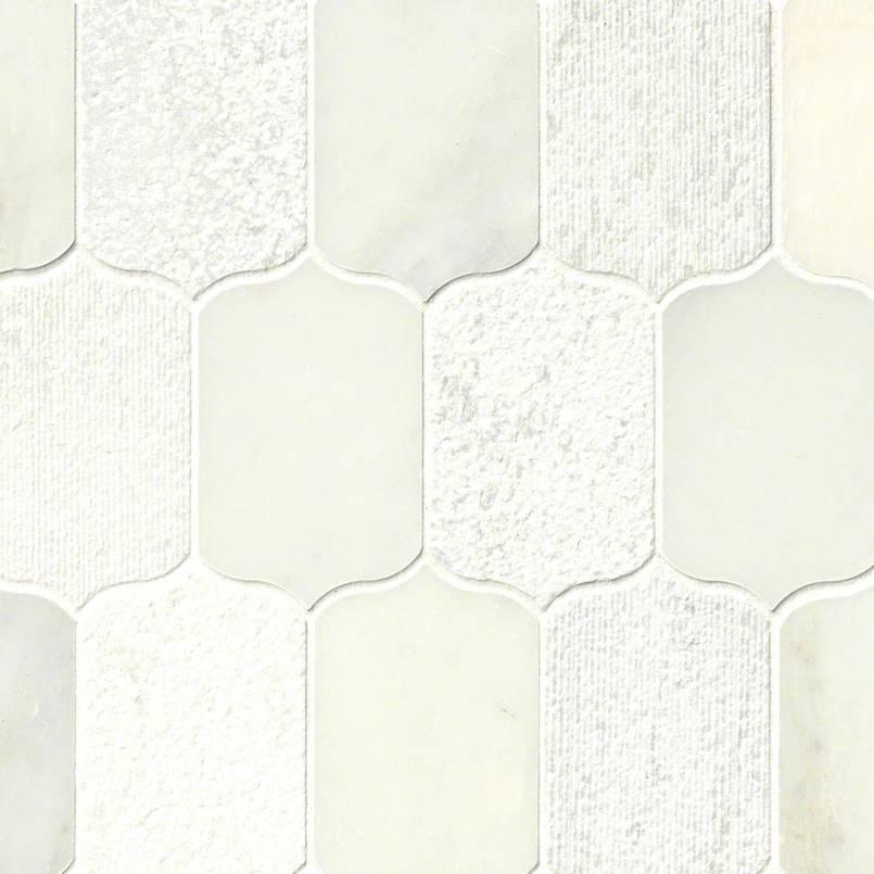 Calypso Blanco Lotus Pattern Multi Finish