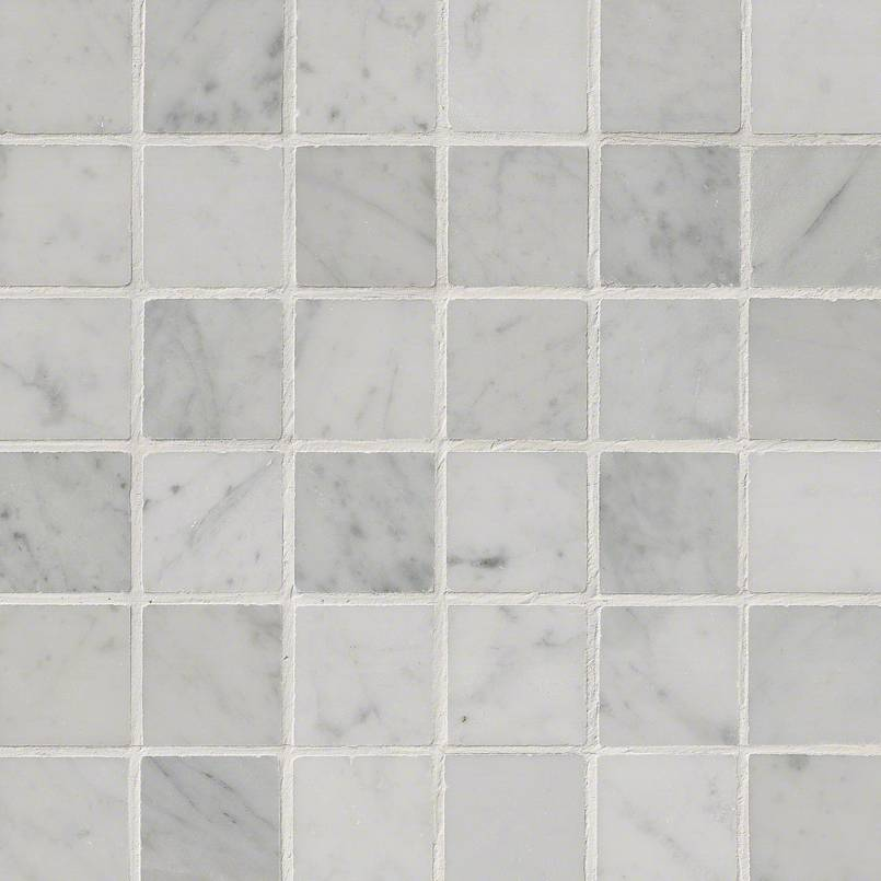 Carrara White 2x2 Polished