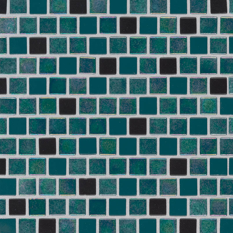Carribean Mermaid 1x1x4mm Staggered Pool Tile