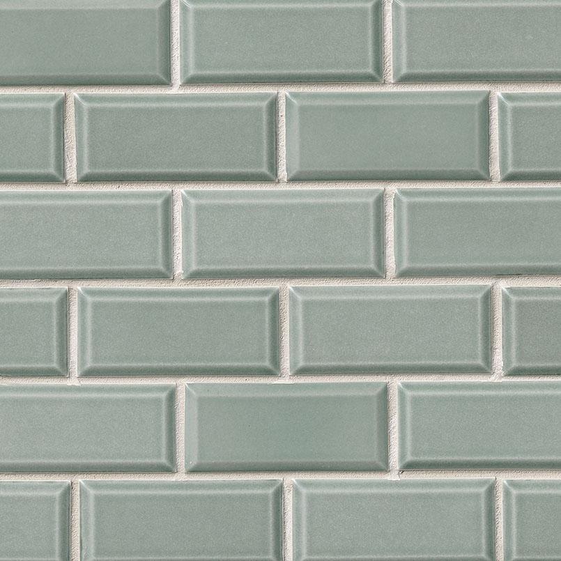 Donna Teal Subway Tile 2x4
