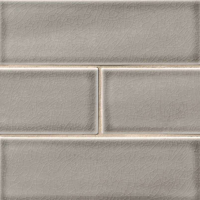 Dove Gray Subway Tile Backsplash