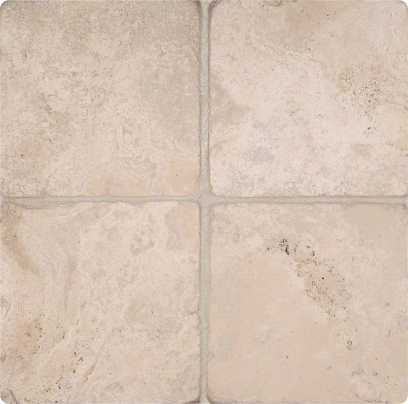 Durango Cream 6x6 Tumbled Tile