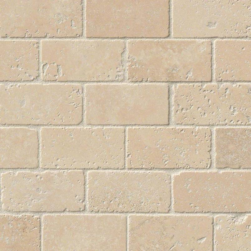 Durango Cream Brick Pattern Subway Tile 2x4