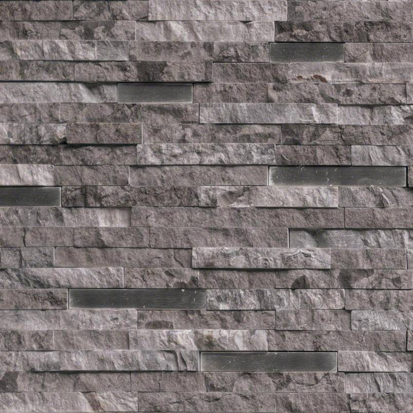 Eclipse Interlocking Pattern 8mm Decorative Mosaic Tile