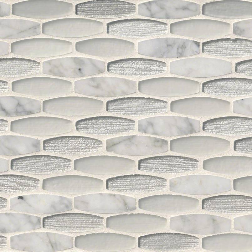 Ellia Blanco 8mm Decorative Mosaic Tile