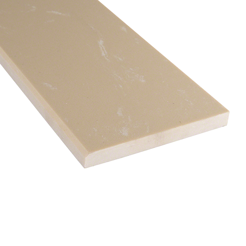 Engineered Beige 6x73x0.62 Polished Single Beveled