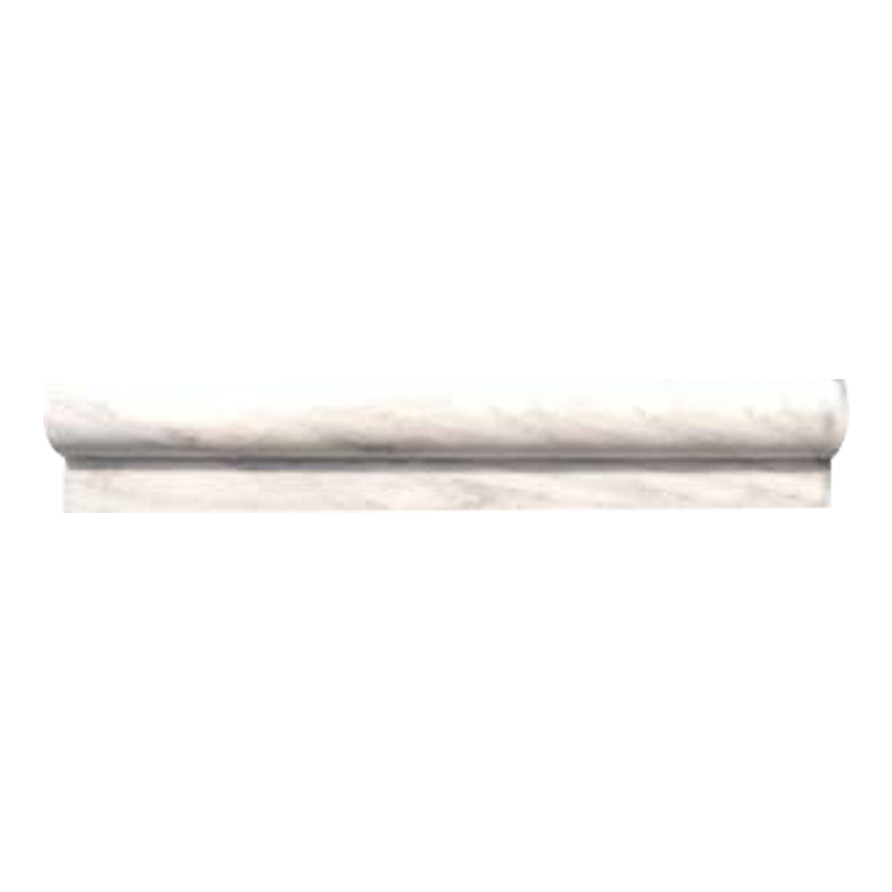 Greecian White 1x2x12 Polished Rail Molding