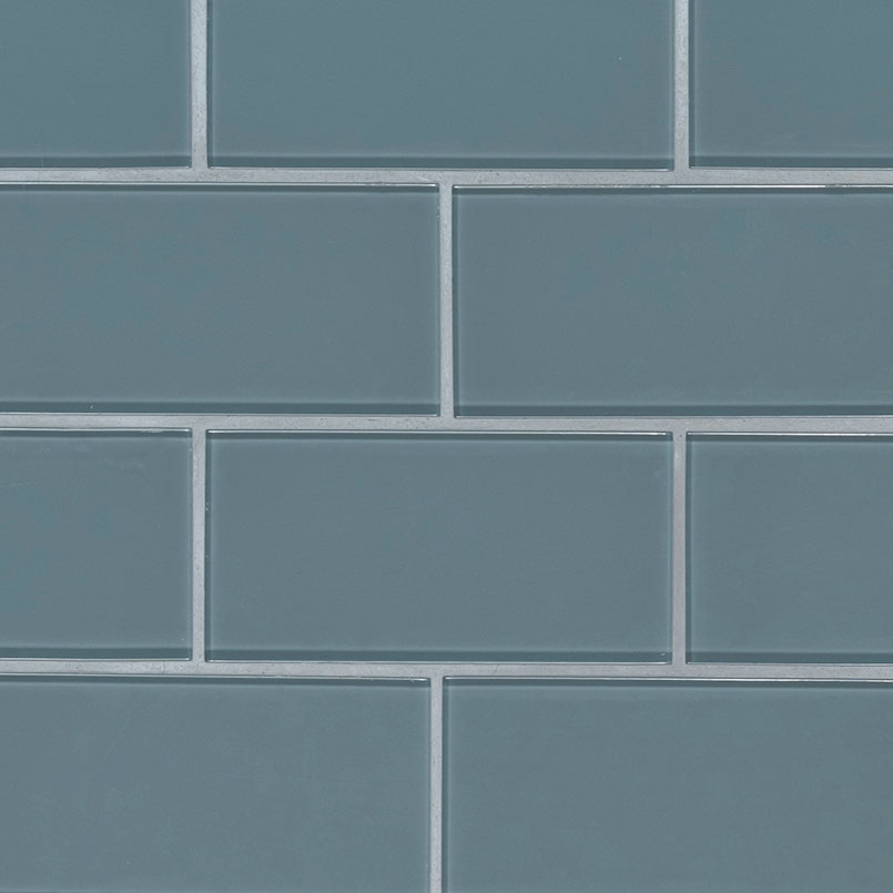 Harbor Gray Subway Tile 3x6x8mm Collection