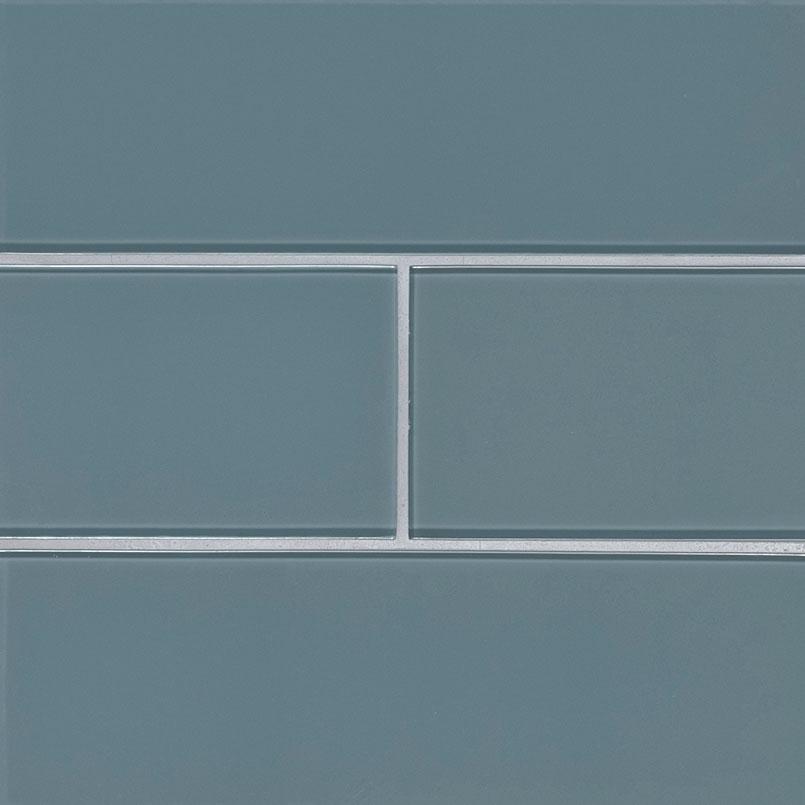 Harbor Gray Subway Tile 4x12x8mm